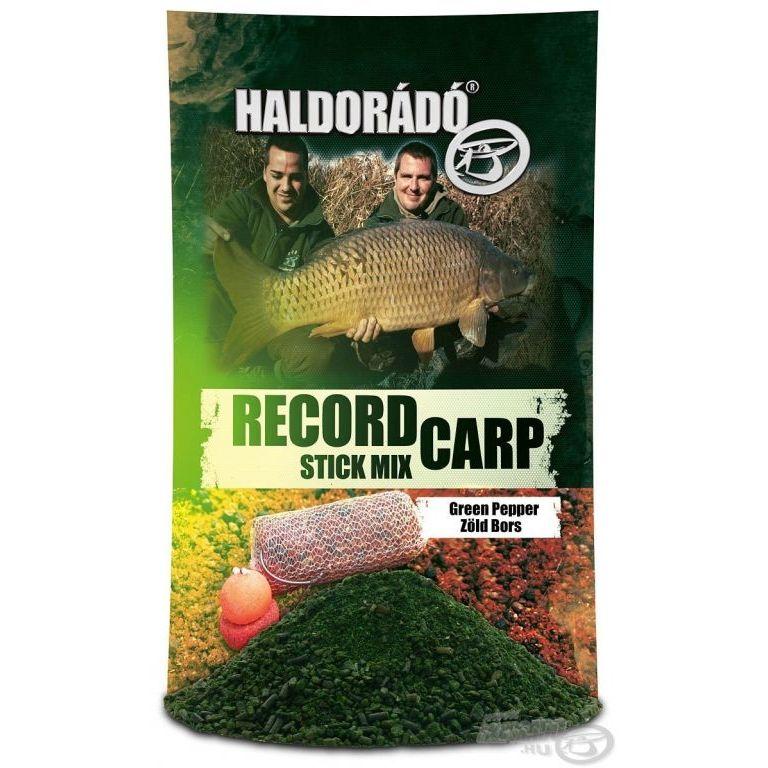 HALDORÁDÓ - Record Carp Stick Mix - Zöld Bors + Ajándék FermentX Nagyhal csali