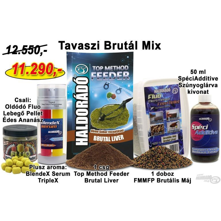 HALDORÁDÓ Tavaszi recept 5 - Tavaszi Brutál Mix