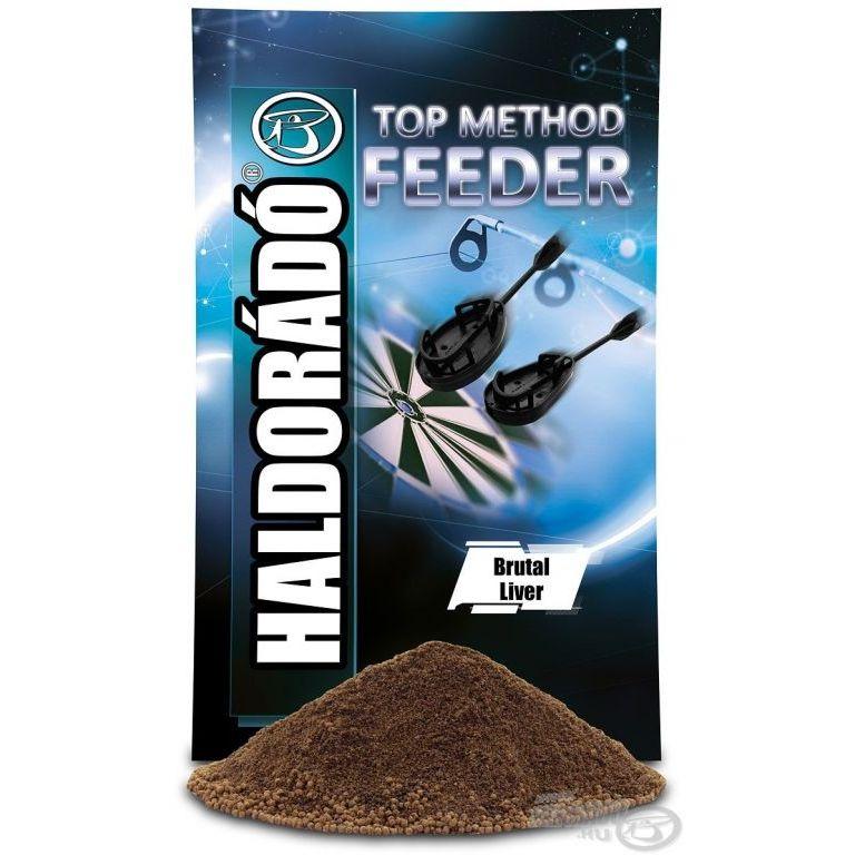 HALDORÁDÓ TOP Method Feeder - Brutal Liver