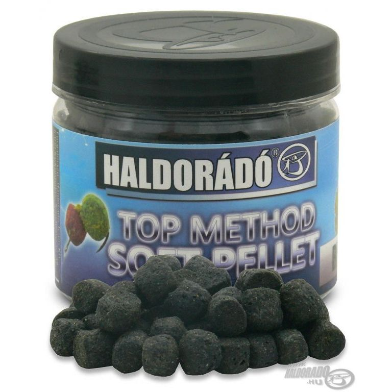 HALDORÁDÓ TOP Method Soft Pellet - Black Squid