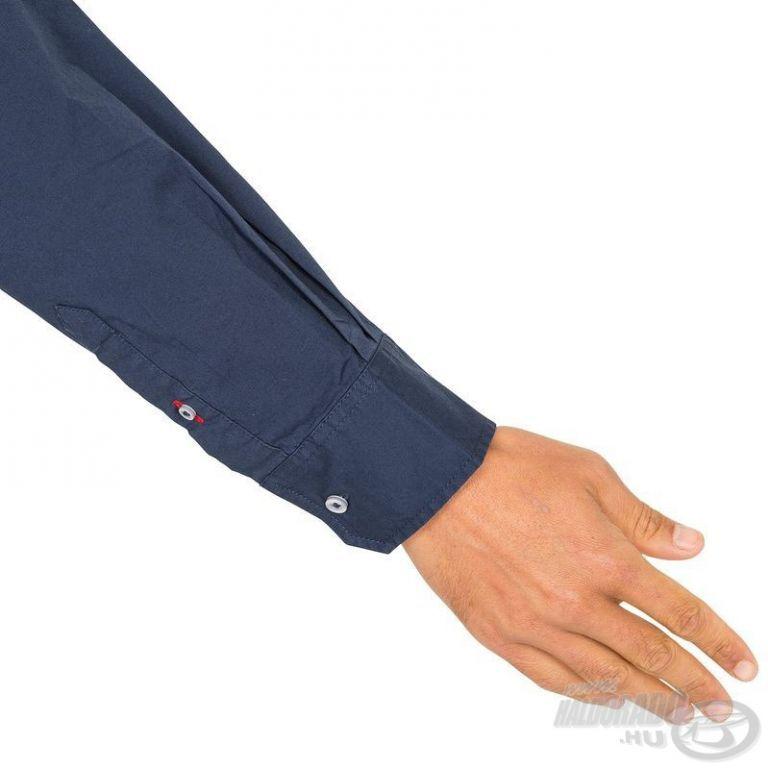 HALDORÁDÓ TRIBORD UPF 40+ UV szűrős ing sötétkék M/L