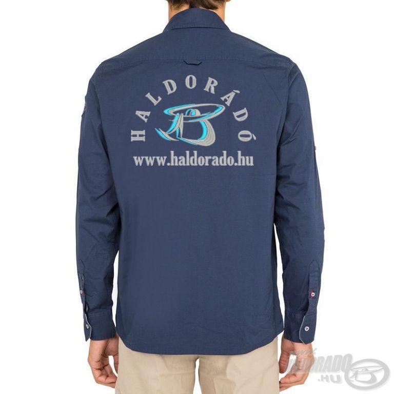 HALDORÁDÓ TRIBORD UPF 40+ UV szűrős ing sötétkék M