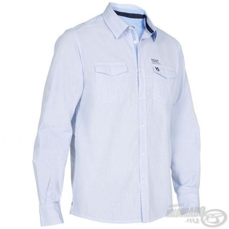 HALDORÁDÓ TRIBORD UPF 40+ UV szűrős ing világoskék L XL - Haldorádó ... 1cd69230c7