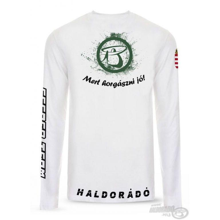 HALDORÁDÓ UV-álló póló hosszú ujjú XXL