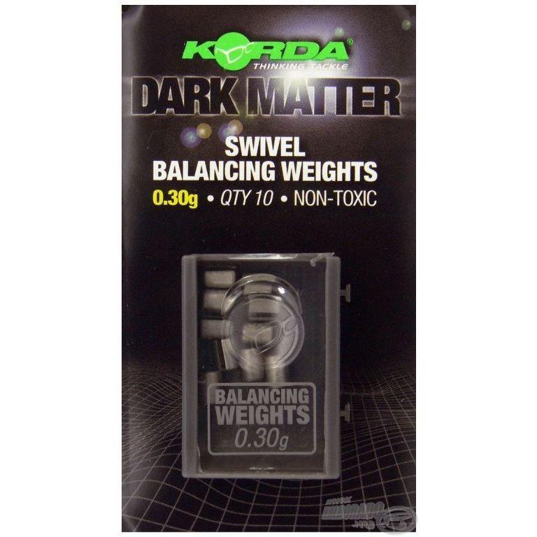 KORDA Dark Matter Balancing Weights 0,30 g