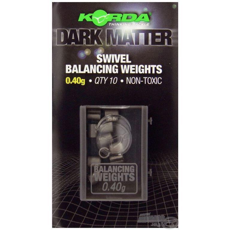KORDA Dark Matter Balancing Weights 0,40 g