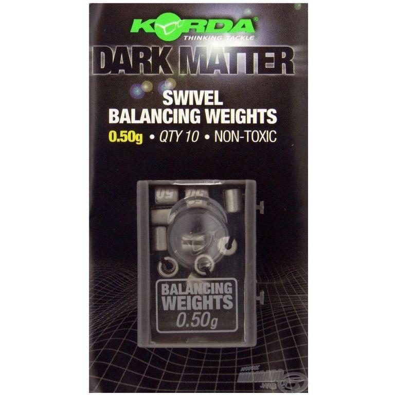 KORDA Dark Matter Balancing Weights 0,50 g