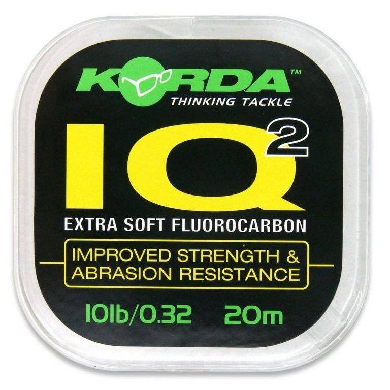 KORDA IQ Extra Soft Fluorocarbon előkezsinór 20 Lbs