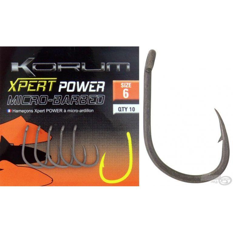 KORUM Xpert Power Micro Barbed 8