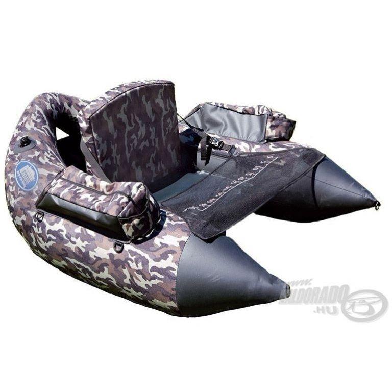 LINEAEFFE Belly Boat terepszínű csónak táskával XXL