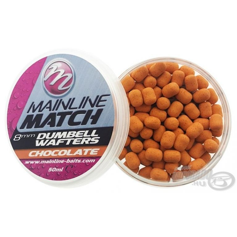 MAINLINE Match Dumbell Wafter 8 mm - Chocolate