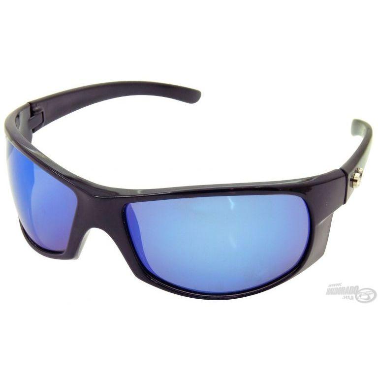 MUSTAD HP103A-1 napszemüveg smoke-blue revo lencsével