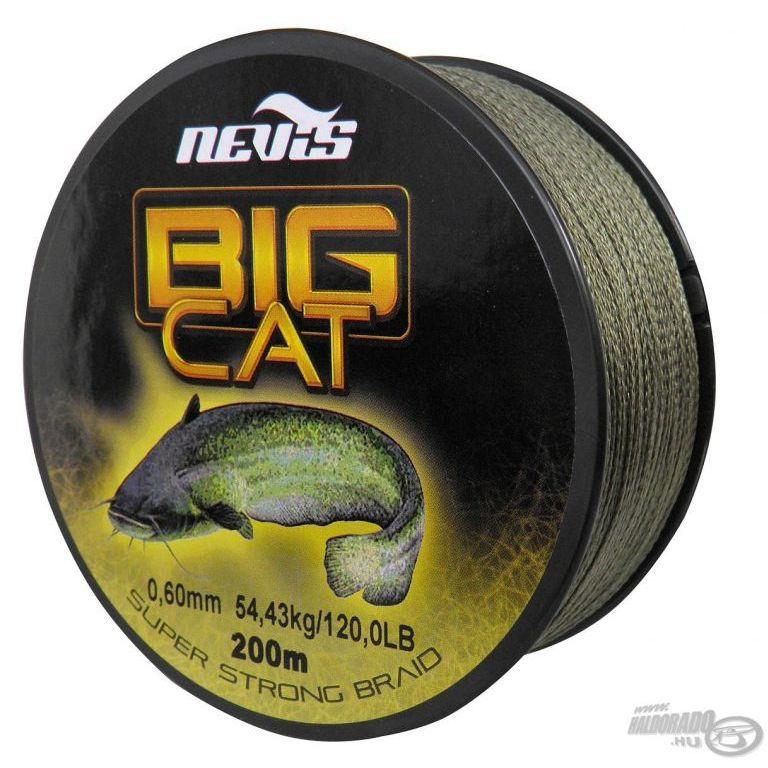 NEVIS Big Cat fonott zsinór 0,80 mm 200 m