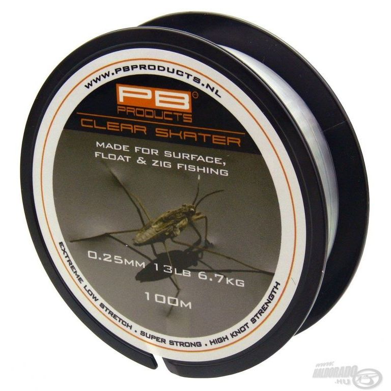 PB PRODUCTS Clear Skater 100 m - 0,25 mm
