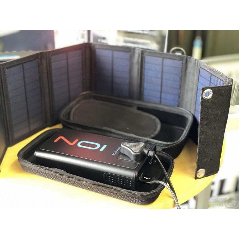 POWAPACS ION - Hordozható akkumulátor 24000 mAh napelemmel együtt