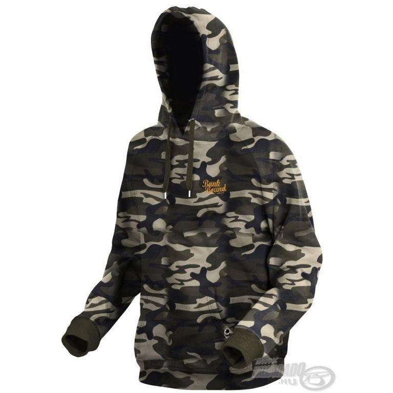 PROLOGIC Bank Bound Terepszínű pulóver M