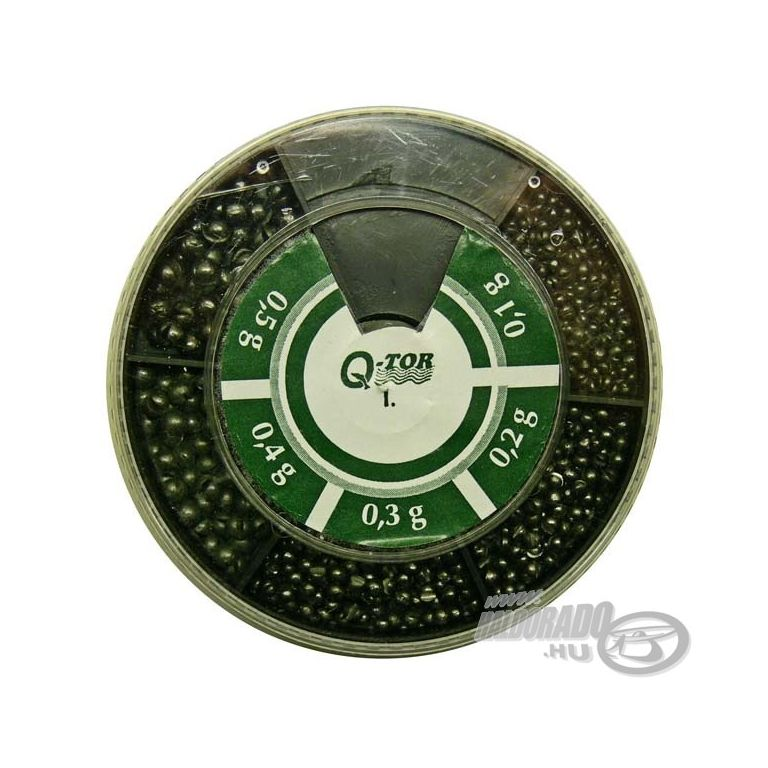 Q-TOR Sörétólom készlet kicsi ólmokkal