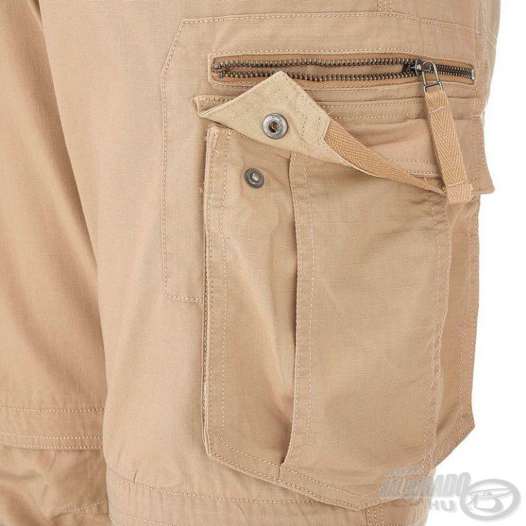 QUECHUA Profilter UPF 40+ UV szűrős nadrág M/L