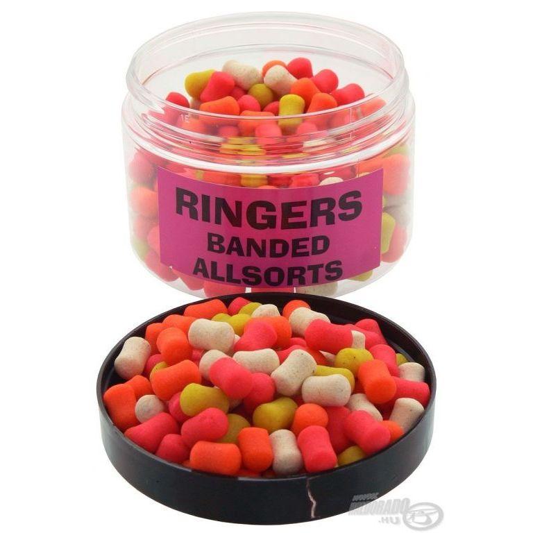 RINGERS Banded Allsorts pellet
