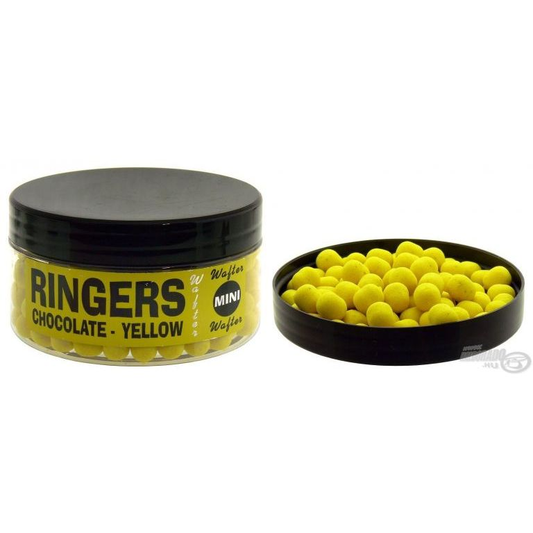 RINGERS Wafter Pellet Chocolate-Yellow mini 6 mm