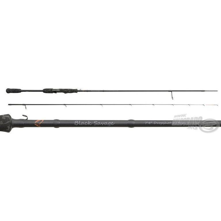 SAVAGE GEAR Black Savage Dropshot 233 cm