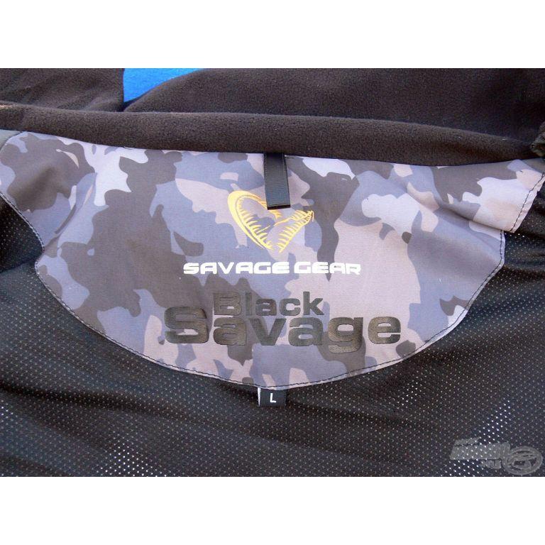 SAVAGE GEAR Black Savage Jacket S