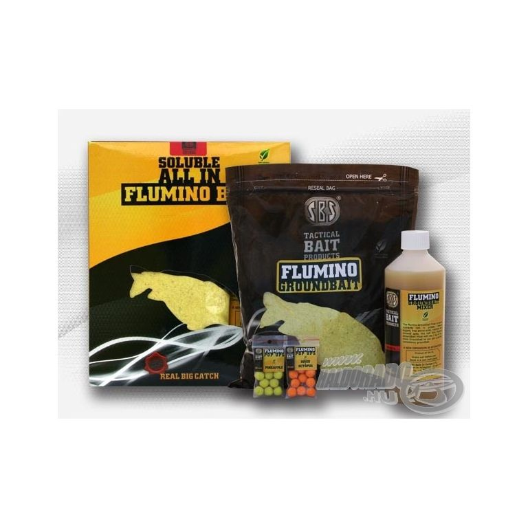 SBS All In Flumino Box Soluble - Pineapple