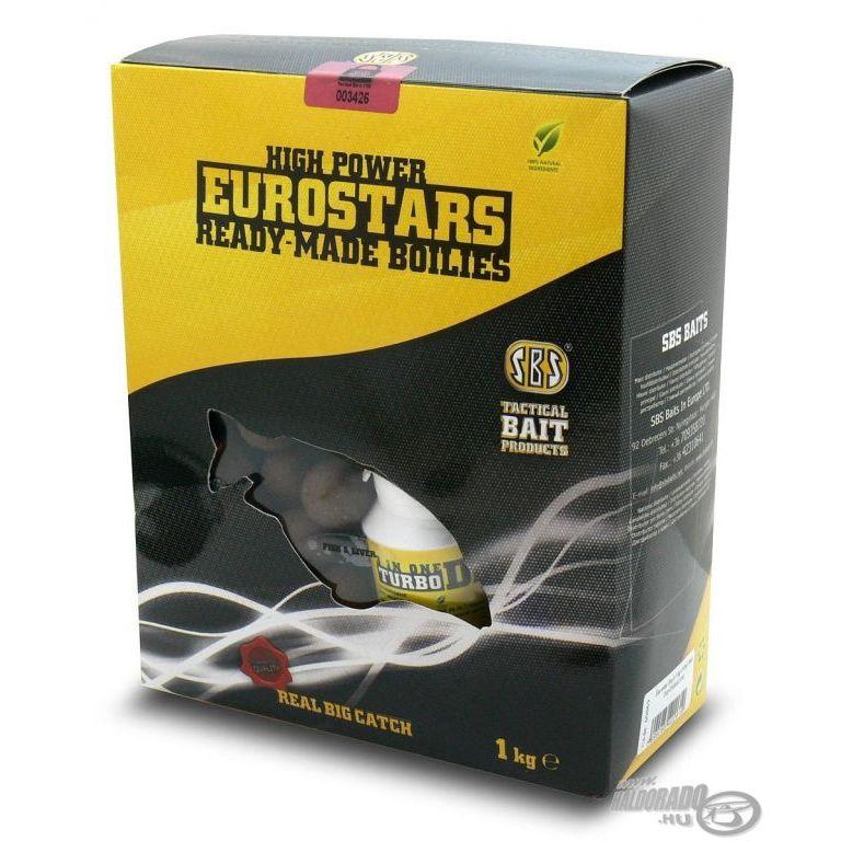 SBS EuroStar bojli+ajándék dip Fish&Liver