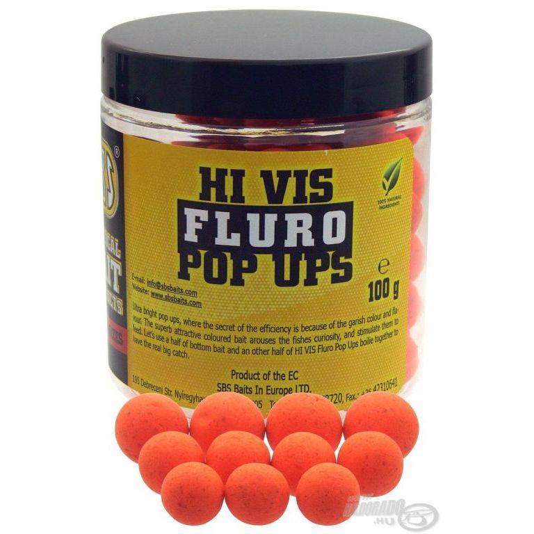 SBS Hi Vis Fluro Pop Up bojli Lemon & Orange 10-14 mm