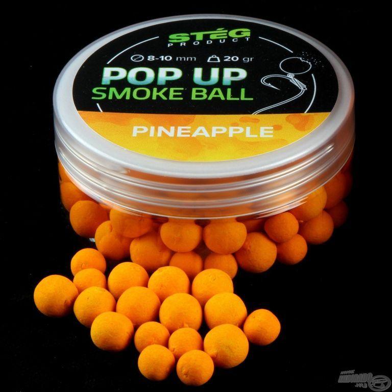 STÉG PRODUCT Pop Up Smoke Ball 8-10 mm - Pineapple