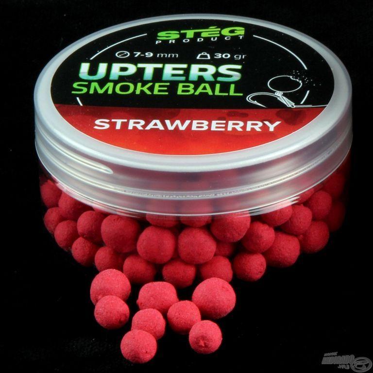 STÉG PRODUCT Upters Smoke Ball 7-9 mm - Strawberry