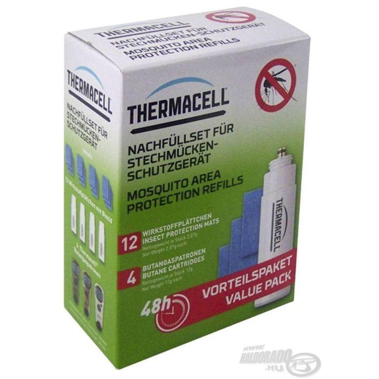 THERMACELL Utántöltő csomag szúnyogriasztó készülékhez