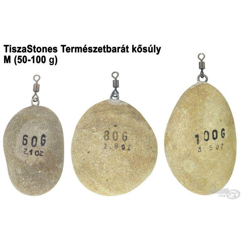 TiszaStones Természetbarát kősúly M (50-100 g)