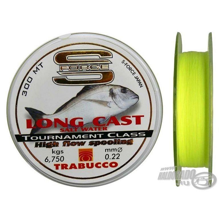 TRABUCCO S-Force Long Cast 0,22 mm