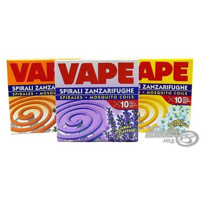 VAPE Füstölő spirál - levendula